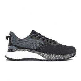 Ανδρικά αθλητικά παπούτσια σε μαύρο και γκρι