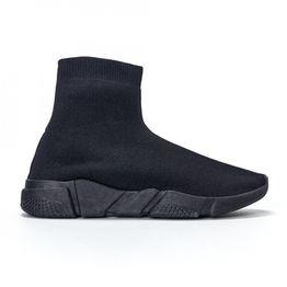 Ανδρικά μαύρα αθλητικά παπούτσια slip-on All-black