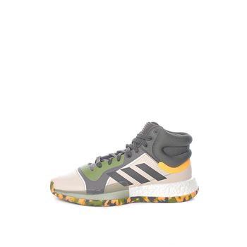 adidas Performance – Ανδρικά παπούτσια μπάσκετ adidas Marquee Boost λευκά-πράσινα
