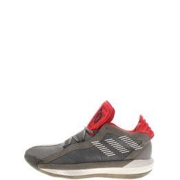 adidas Performance - Unisex παπούτσια basketball adidas Performance Dame 6 γκρι κόκκινα