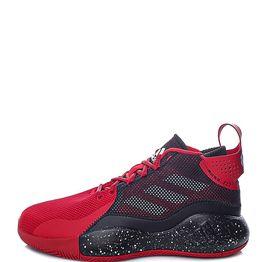 adidas Performance - Unisex παπούτσια basketball adidas Performance D Rose Takedown κόκκινα μαύρα