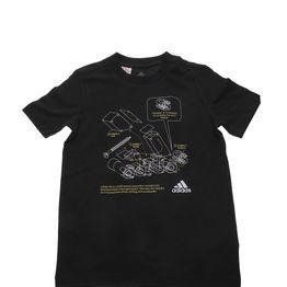 adidas Performance - Παιδικο t-shirt adidas Performance TECH BOS B μαύρο