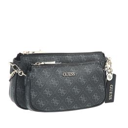 GUESS - Γυναικεία τσάντα χιαστί GUESS ARIE DOUBLE POUCH μαύρη
