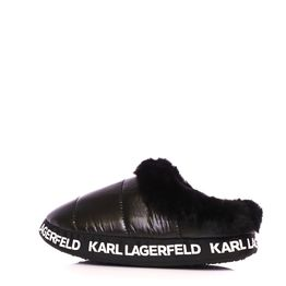 KARL LAGERFELD - Γυναικείες παντόφλες KARL LAGERFELD KL49101 Puff Slipper μαύρες