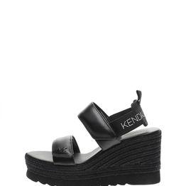 KENDALL + KYLIE - Γυναικείες πλατφόρμες KENDALL + KYLIE μαύρες