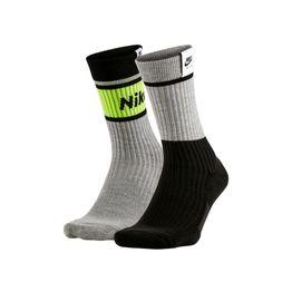 NIKE - Unisex κάλτσες 2PR NIKE AIR 1978 μαύρο-γκρι