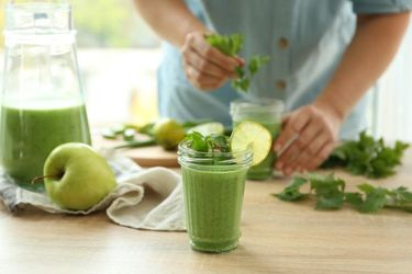 green, smoothie