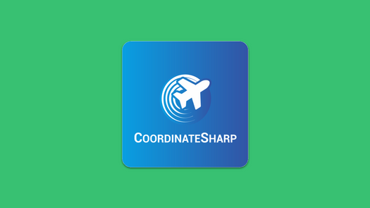 Screenshot for .net library or nuget package CoordinateSharp