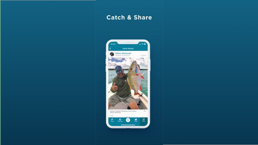 Screenshot for .net mobile app FishAngler