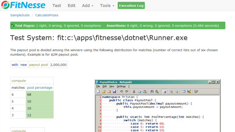 Screenshot for .net developer tool fitSharp
