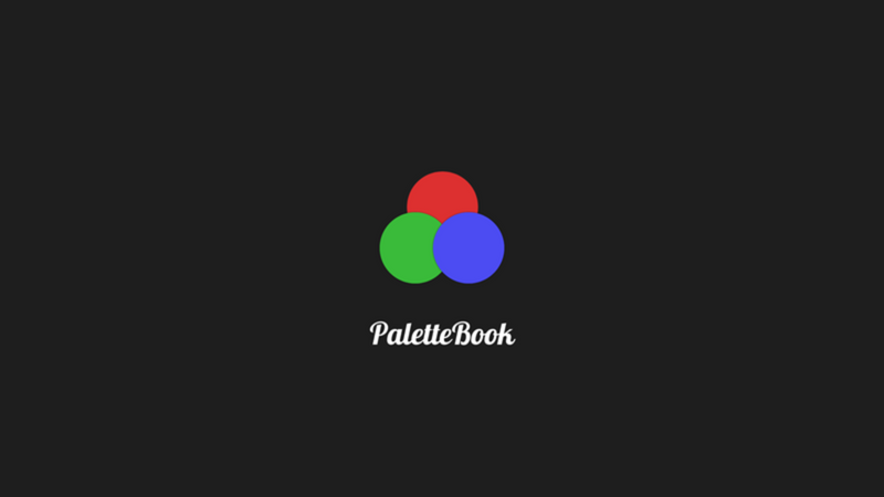 Screenshot for .net desktop app PaletteBook