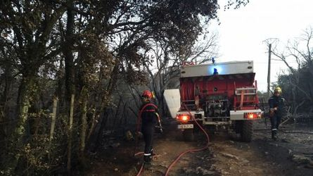herault, galargues, beaulieu, hectares, brules, pompiers, mobilises