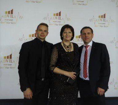 Вікторія Мухамедова у Дюссельдорфі на нагородженні кращих консультантів Європи