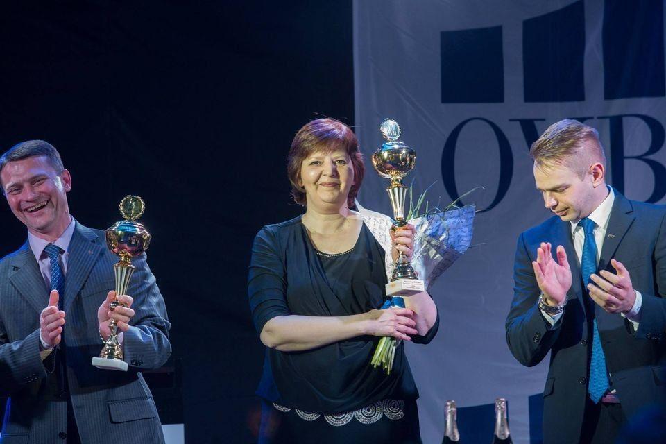 Вікторія Мухамедова в Києві на нагородженні кращих незалежних фінансових консультантів України.