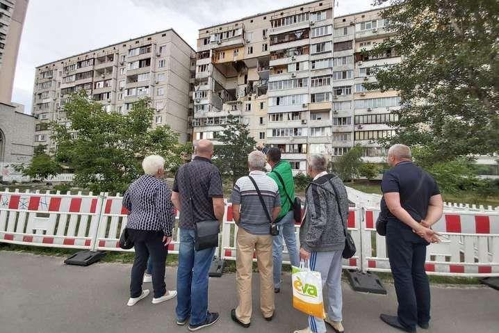 Постраждалий від вибуху будинок буде демонтовано - Постраждалий від вибуху будинок на Позняках знесуть за 14 млн грн