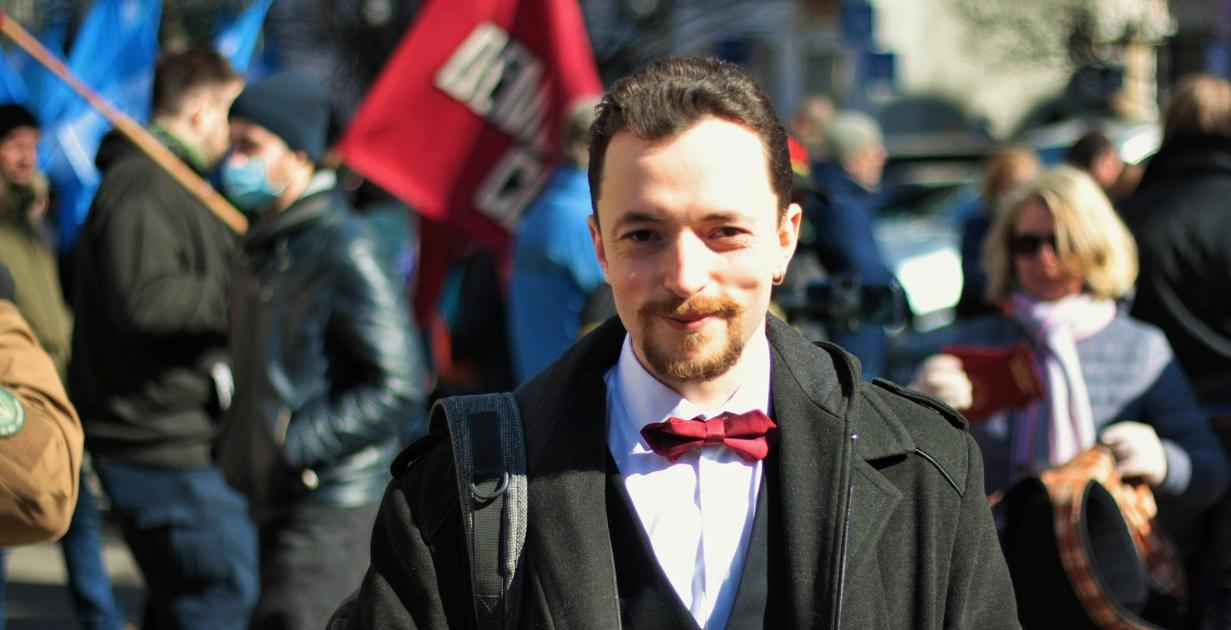 Один з лідерів «Демократичної сокири» Віктор Трегубов (фото: facebook)