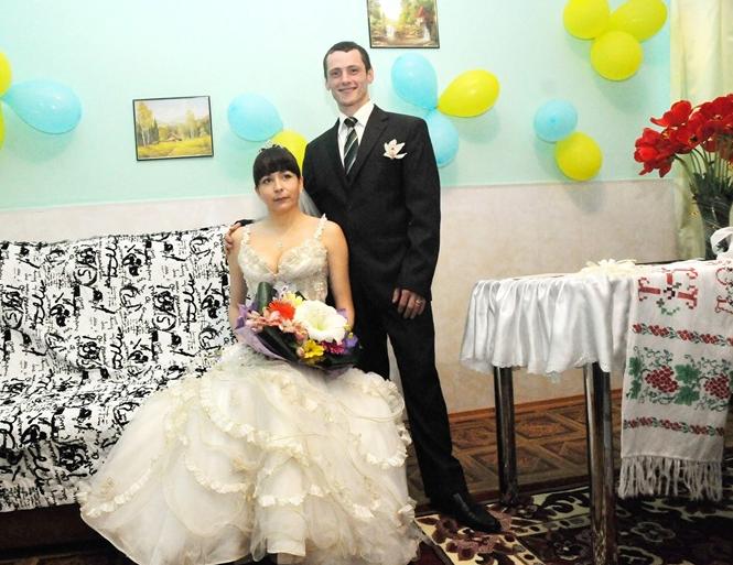 Катерина Щука виходить заміж (фото: Північно-Східне міжрегіональне управління з питань виконання кримінальних покарань)