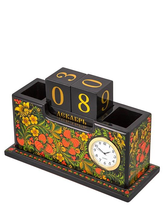 Для ілюстрації: письмовий набір з хохломським розписом від російського бренду goldenhohloma.com
