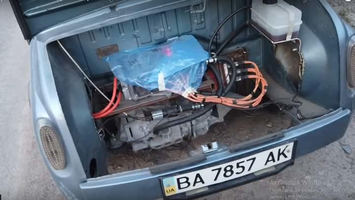 Електричний двигун ЗАЗ-965