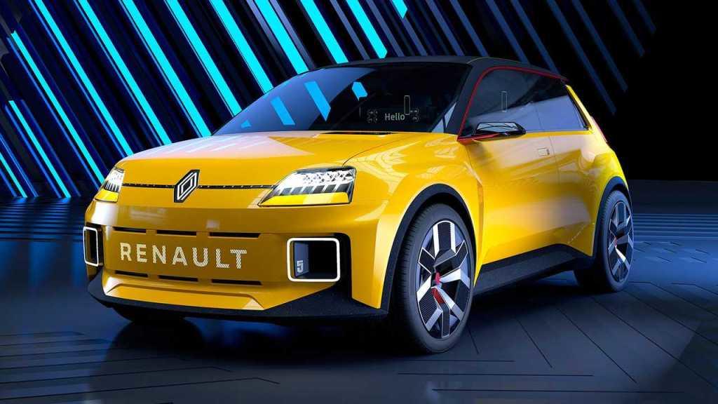 Концепт городского электромобиля Renault 5