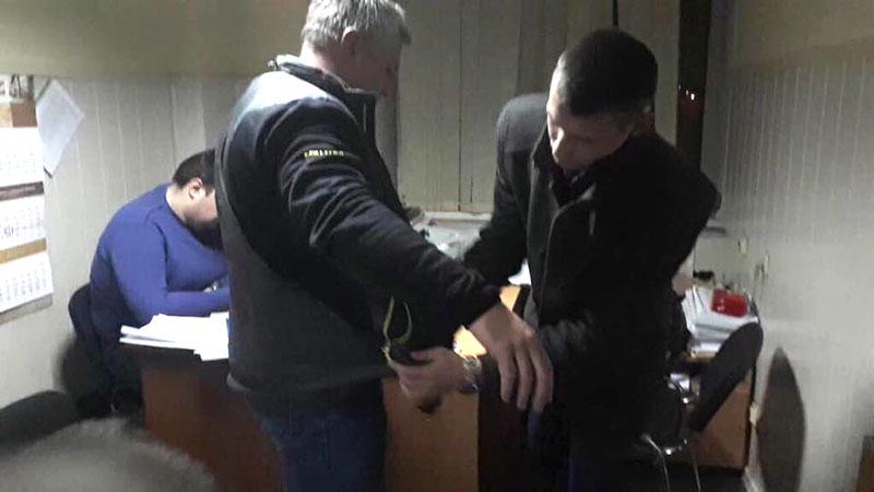 У листопаді 2017 року прокуратура затримала у Дніпрі директора естонської компанії Apolineja OU у справі про розробку програми електронного декларування. Фото з сайту генпрокурутари