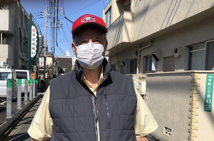 Matthew Fisher during a recent trip to Japan in 2020.