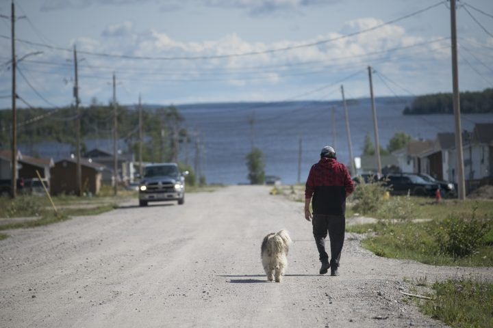 FILE: The remote community of the Neskantaga, Ontario First Nations, on Aug 19 2019. The community in northwestern Ontario has been under a boil water advisory for over twenty years.