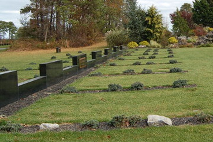 Graves are shown at Washington Memorial Park in Mount Sinai, N.Y., in this file photo.