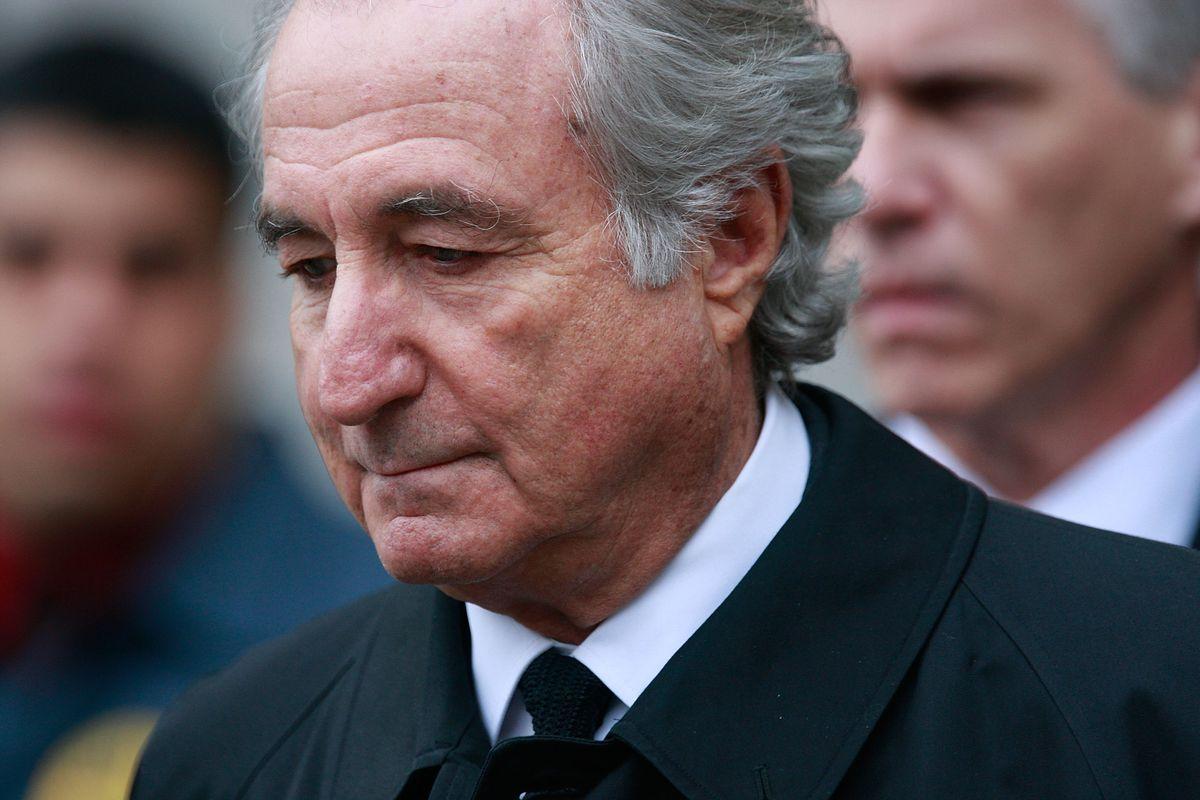 Financier Bernard Madoff leaves Manhattan Federal court March 10, 2009 in New York City.