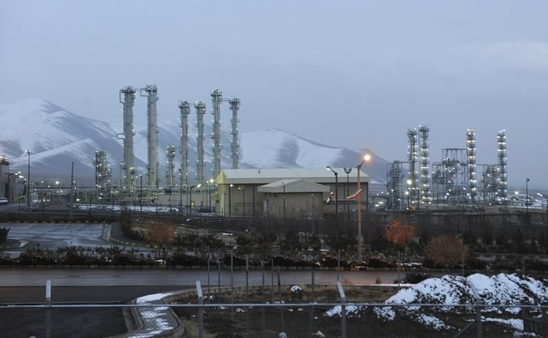 FILE - This Jan. 15, 2011 file photo shows Arak heavy water nuclear facilities, near the central city of Arak, 150 miles (250 kilometers) southwest of the capital Tehran, Iran.