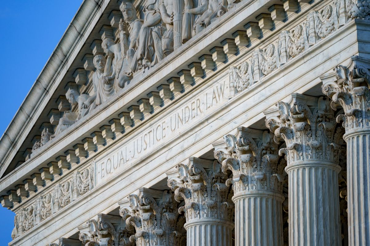 FILE - In this June 30, 2021, file photo the Supreme Court is seen in Washington.