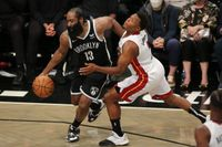 James Harden's dejected reaction after Brooklyn Nets fall to Miami Heat