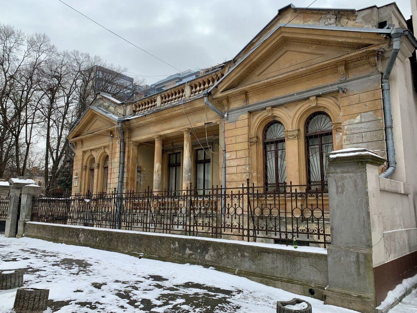 Еще один памятник архитектуры в Одессе под угрозой исчезновения