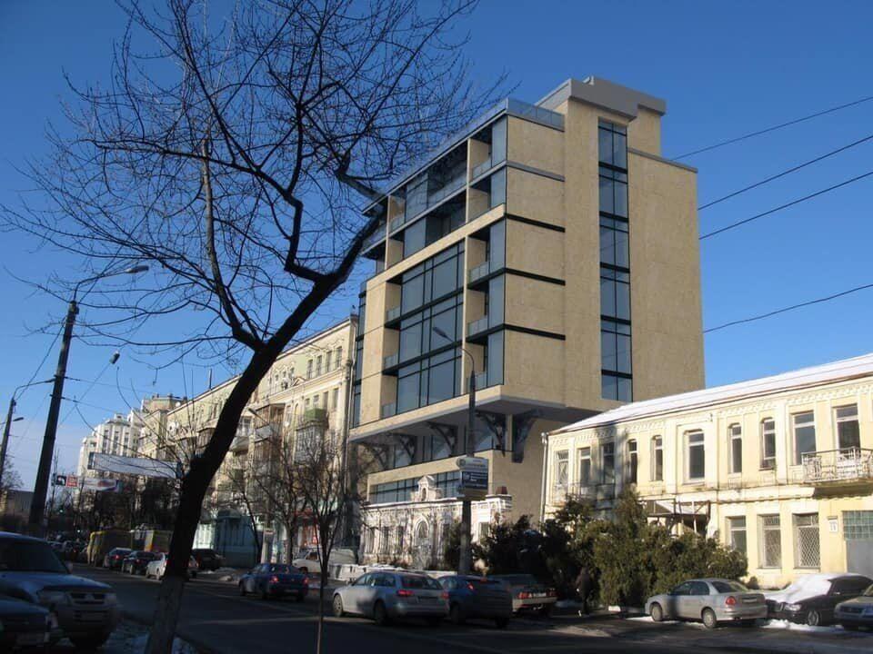 Особняк Бакалинского после постройки