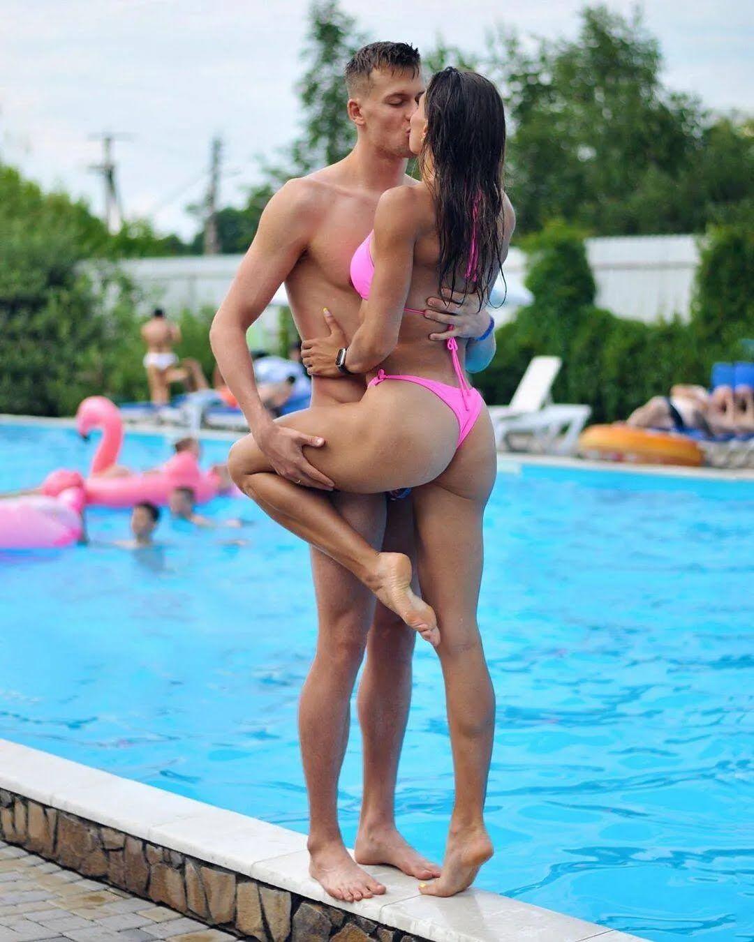 Марина Бех вместе с мужем Михаилом Романчуком