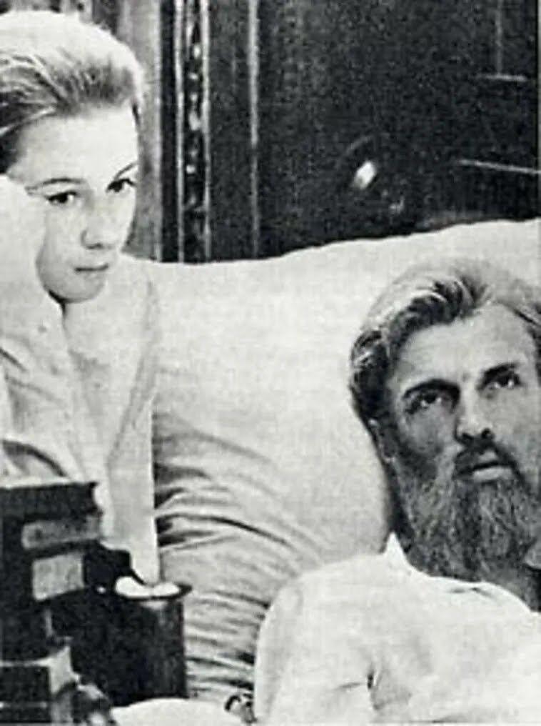 Леся Українка і вмираючий Сергій Мержинський