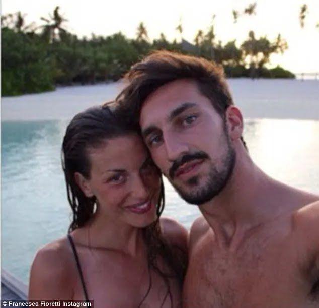 Давіде Асторі з дружиною Франческою