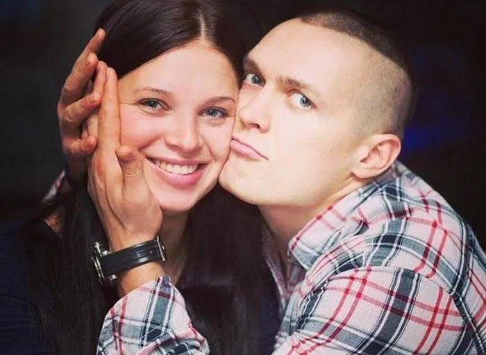 Екатерина Хмелевская с Александром