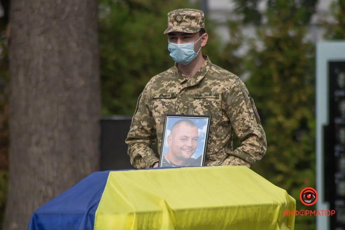 Погибший десантник Артем Бондаренко.