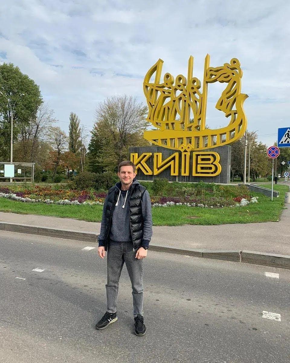 Пропагандист опять посетил Киев.