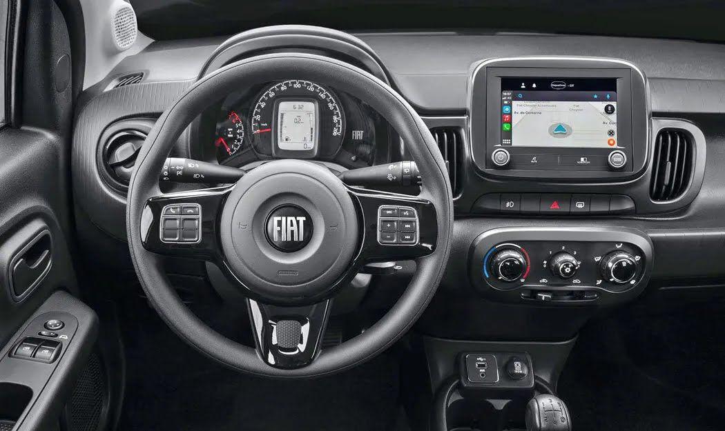 FIAT Mobi - один из самых дешевых автомобилей в мире
