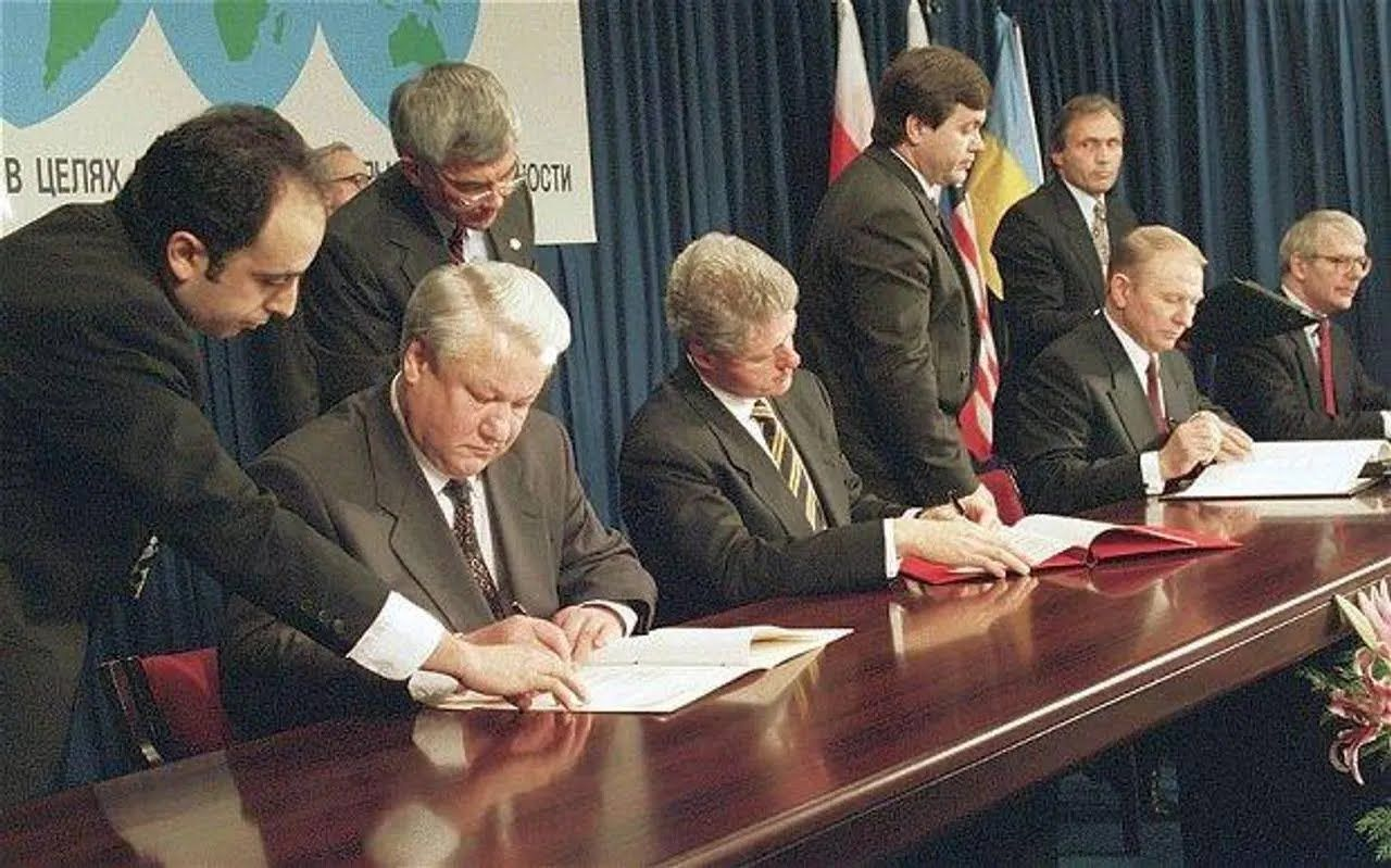 Будапештский меморандум был подписан 5 декабря 1994 года