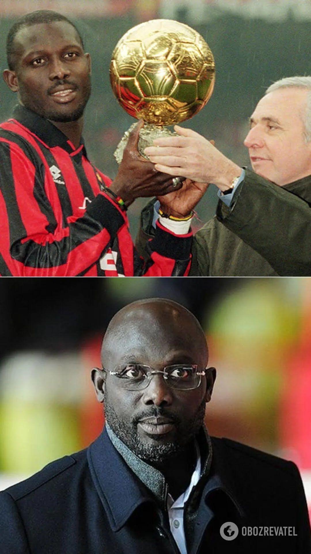 Экс-футболист Джордж Веа – 25-й президент Либерии