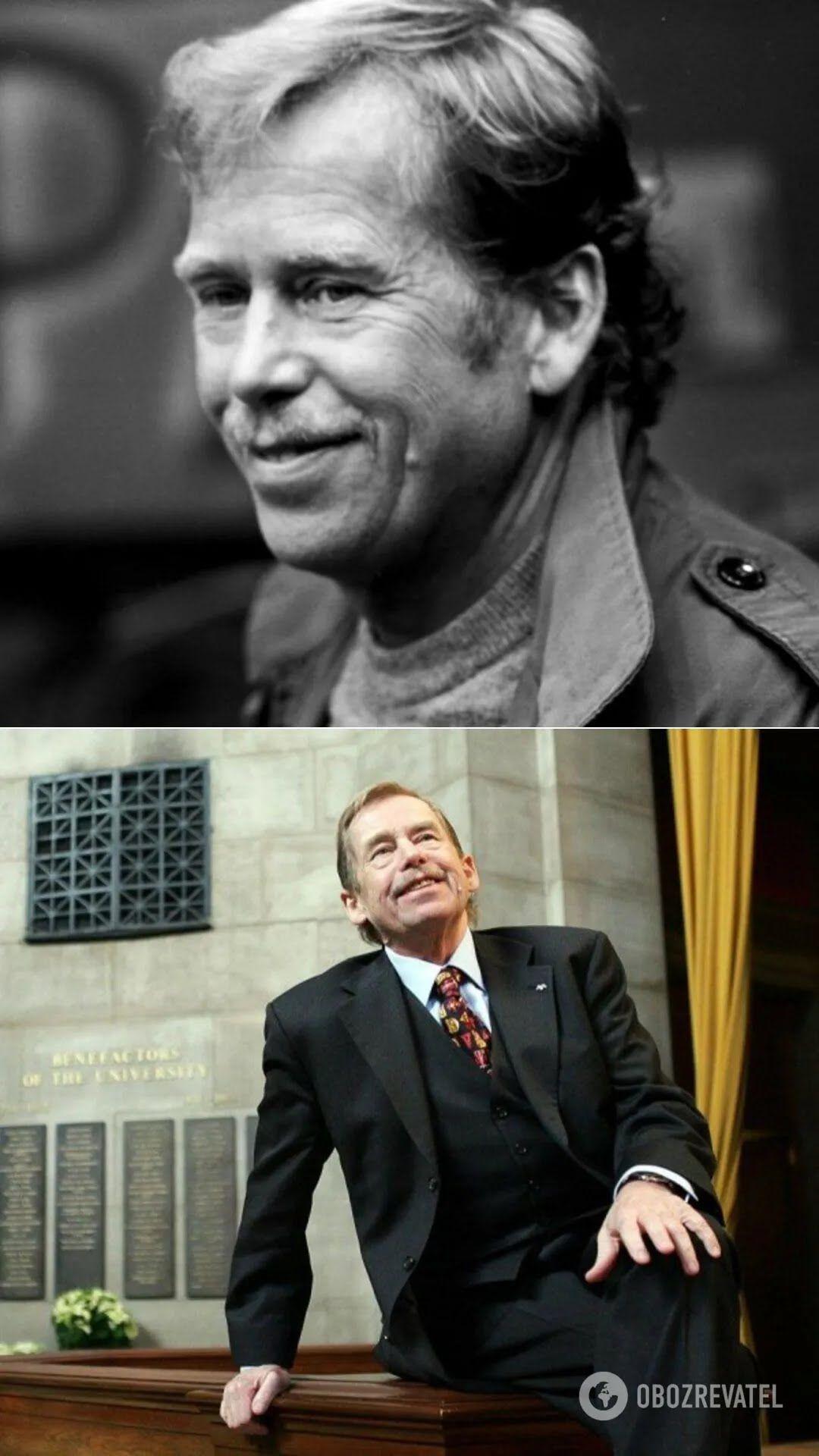 Писатель Вацлав Гавел был десятым и последним президентом Чехословакии, а также первым президентом Чехии(1993-2003 гг.)