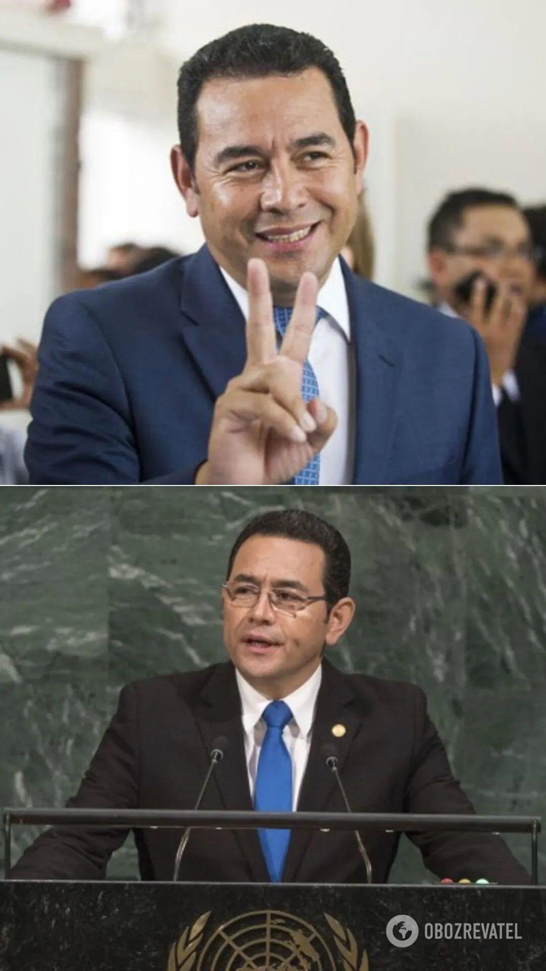 Комик Джимми Моралес – президент Гватемалы(с января 2016 года по январь 2020-го)