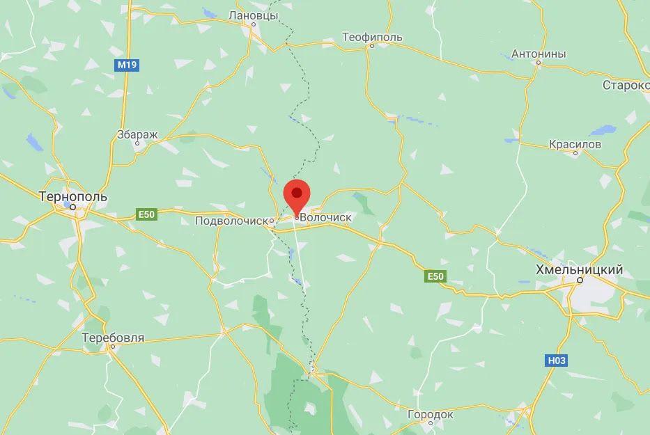 Волочиск Хмельницкой области.