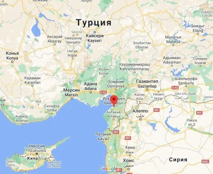 Вибух прогримів в Іскендеруні в провінції Хатай.