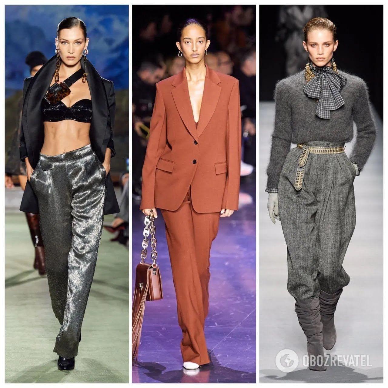 Модные брюки зима 2020-21