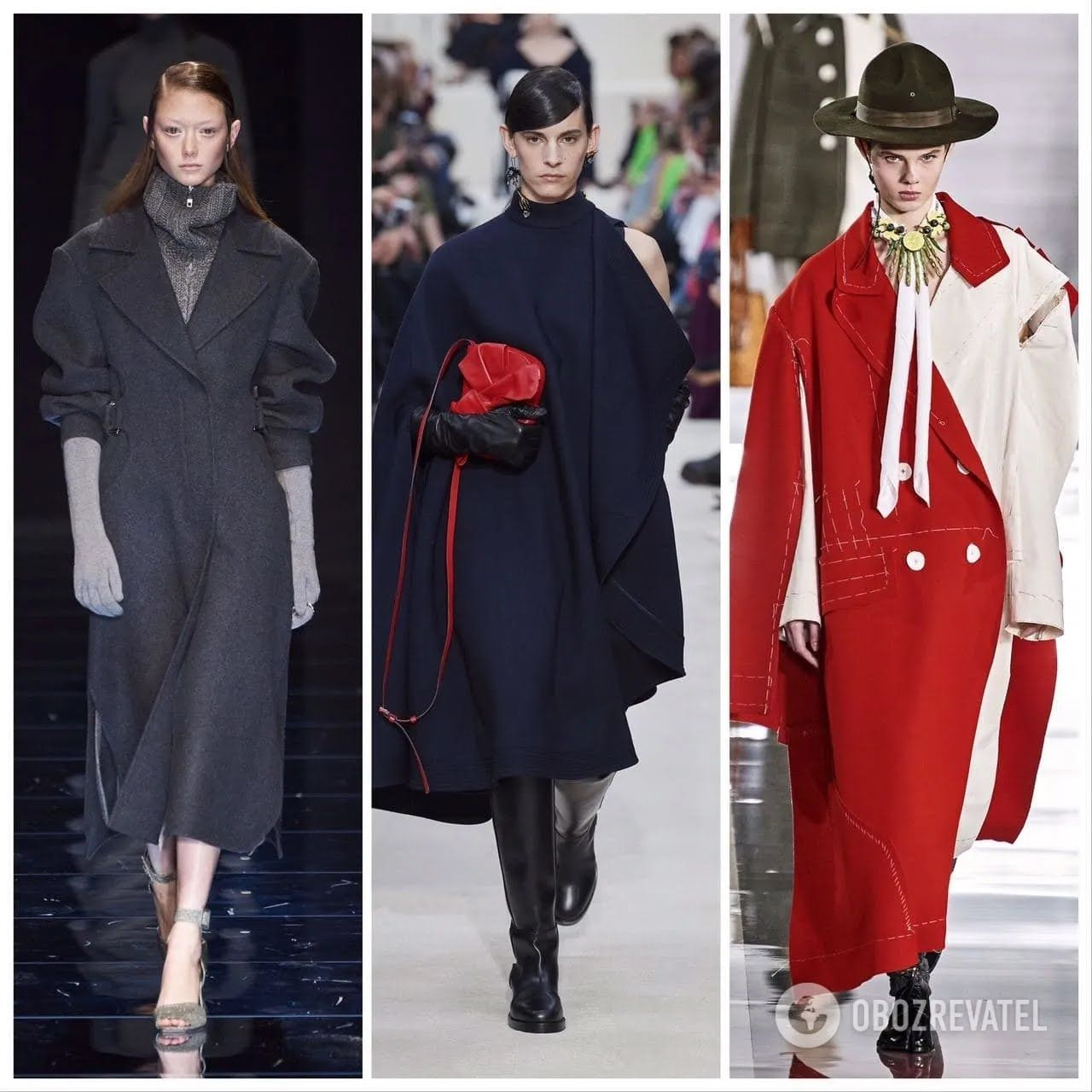 Модные пальто зима 2020-21