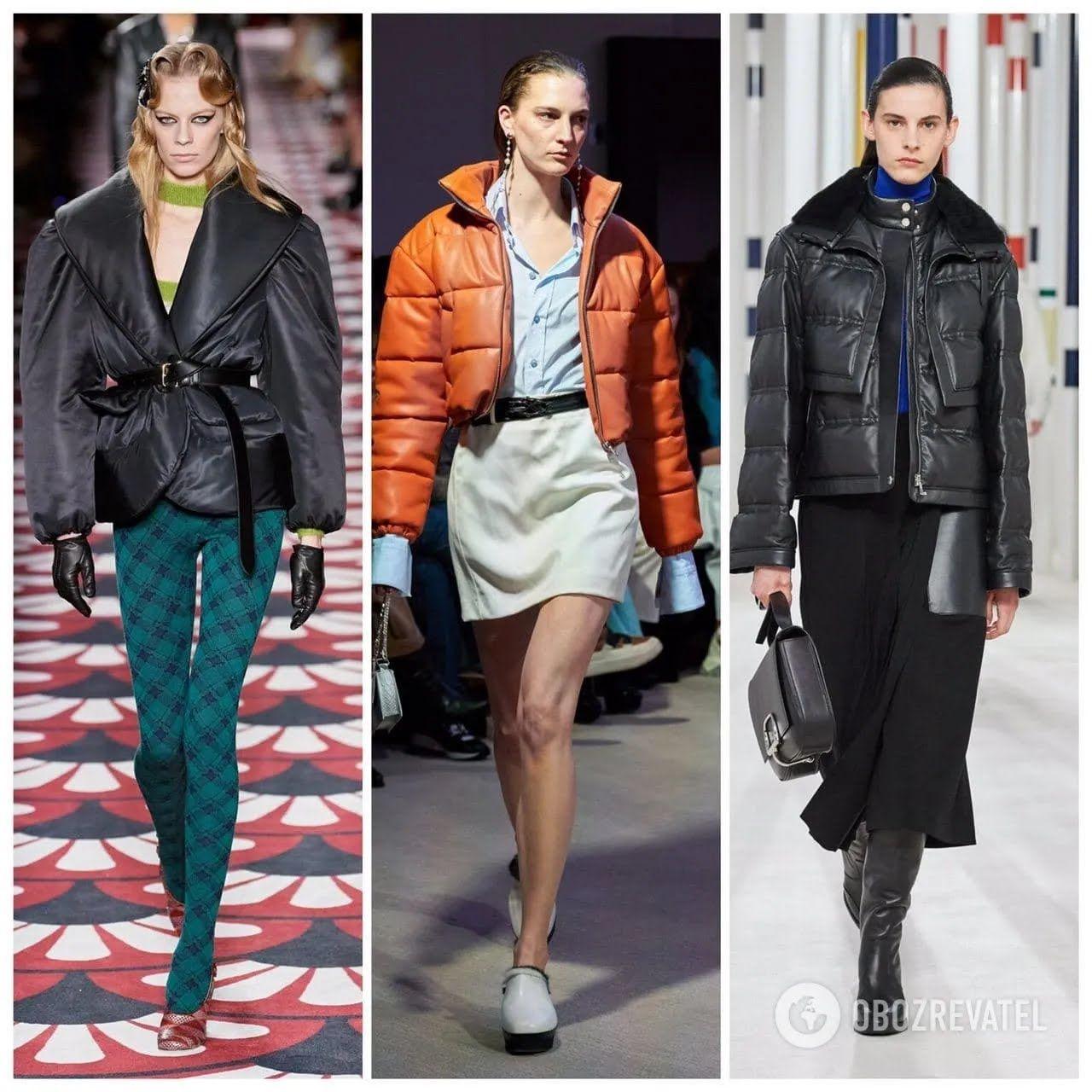Модные пуховики зима 2020-21